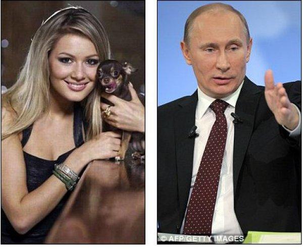 Это фото The Daily Mail подписал так: Владимир Путин сделал звезду Playboy депутатом