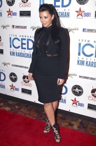 Ким Кардашян планирует заработать на ребенке