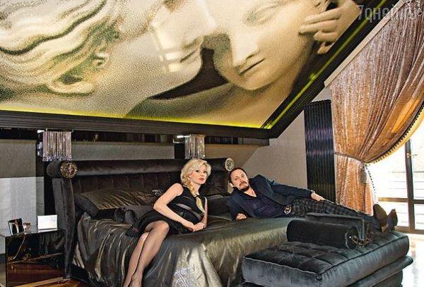 Стас Михайлов с законной супругой Инной