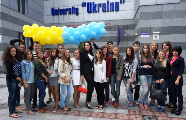 Влада Литовченко в университете пресс-служба