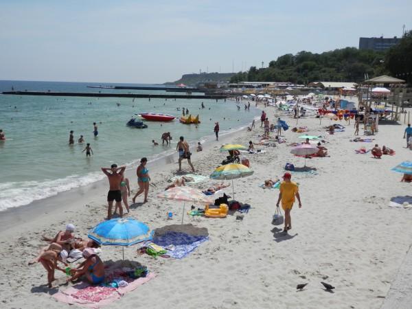 Пляжи Одессы: Золотой берег