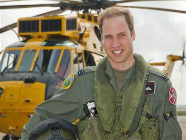 Принц Уильям получил вертолет