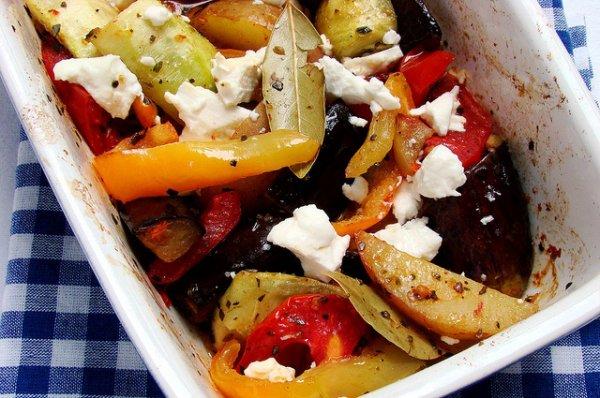 Рецепт                  Овощное рагу по-гречески