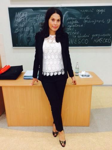 Влада Литовченко – преподаватель
