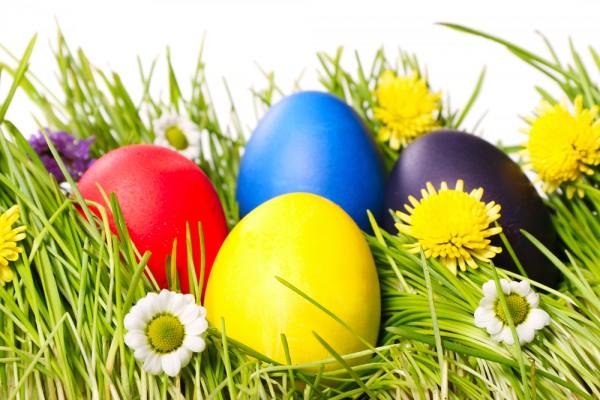 Пасхальные яйца традиционно красят в Чистый четверг