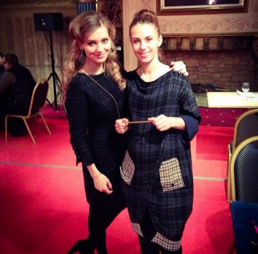 Кристина Асмус с Викторией Авериной