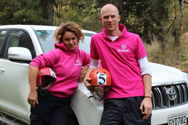 За пять недель участники проехали на внедорожниках всю Новую Зеландию