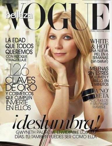 Гвинет Пэлтроу - на обложке журнала Vogue Испания