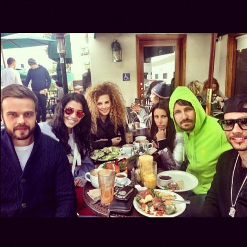 Санта Димопулос не стесняется публиковать фотографии совместного отдыха с мужем Анны Седоковой