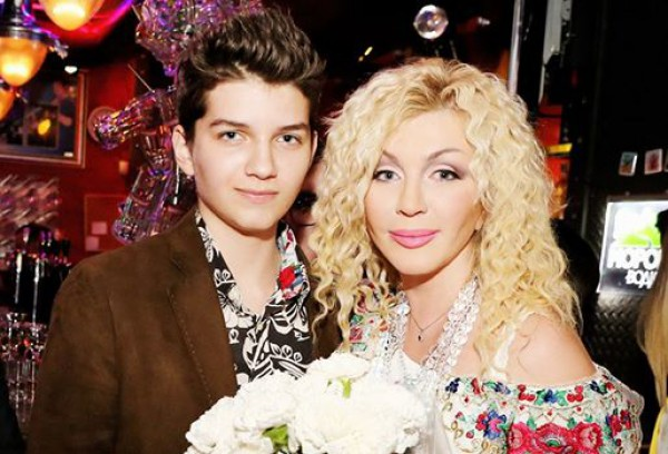 Ирина Билык показала 15-летнего сына Глеба