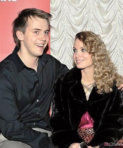 Татьяна Арнтгольц с бывшим мужем