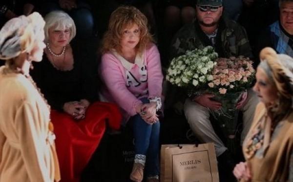 Пугачева променяла балахоны на обтягивающие джинсы