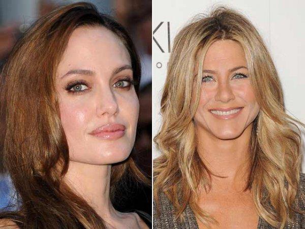 Анджелина Джоли снова ссорится с Дженнифер Энистон
