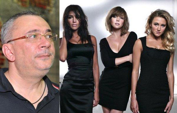 Константин Меладзе не вмешивается в личную жизнь девушек из ВИА Гра