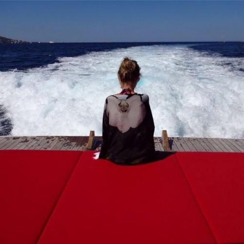 Ксения Собчак сейчас в отпуске