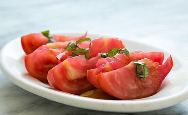 Рецепт                  Салат из помидоров с соевым соусом
