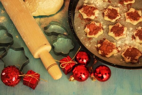 Печенье на Новый год и Рождество