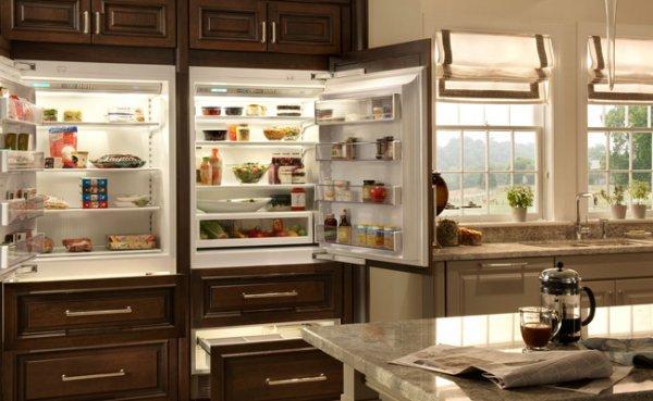 Как устроен холодильник side by side