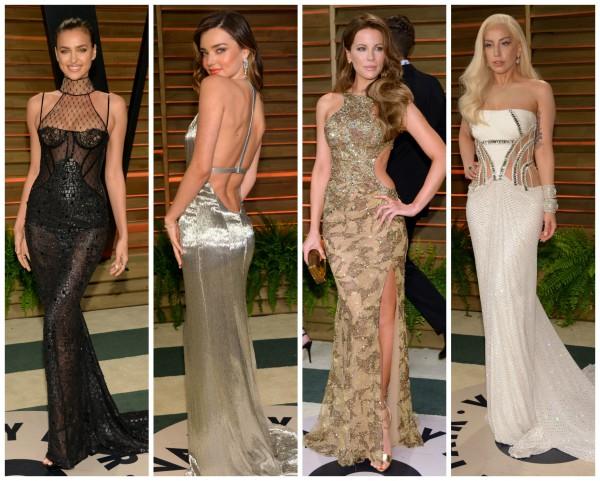 Без лишней скромности: звезды на вечеринке Vanity Fair Oscar Party 2014