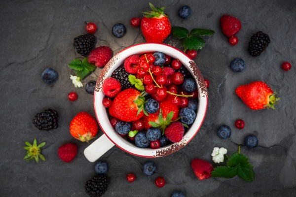 Лесные ягоды богаты антиоксидантами