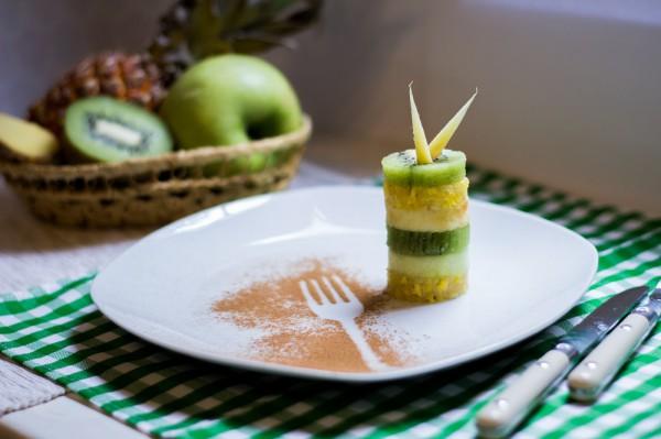 Жиросжигающий фруктовый десерт