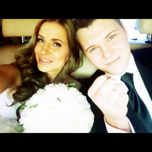 Свадебное фото Серея и Таты
