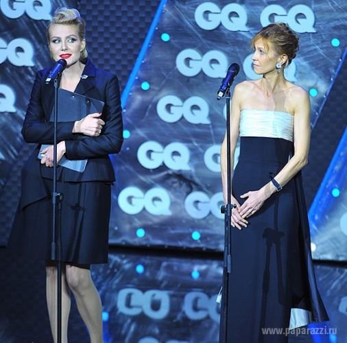 Рената Литвинова заплакала на сцене во время вручения премии от журнала GQ