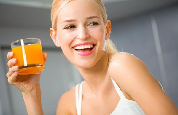 Если ты хочешь похудеть, фруктовым сокам предпочитай овощные