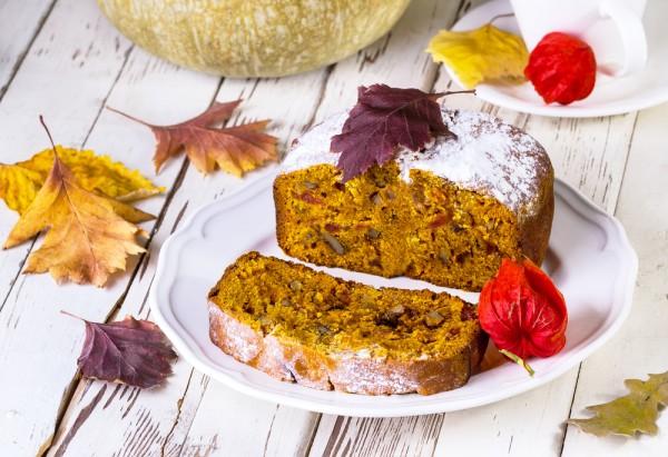 Осенний кекс с тыквой