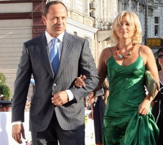 Сергей Тигипко со второй женой Викторией