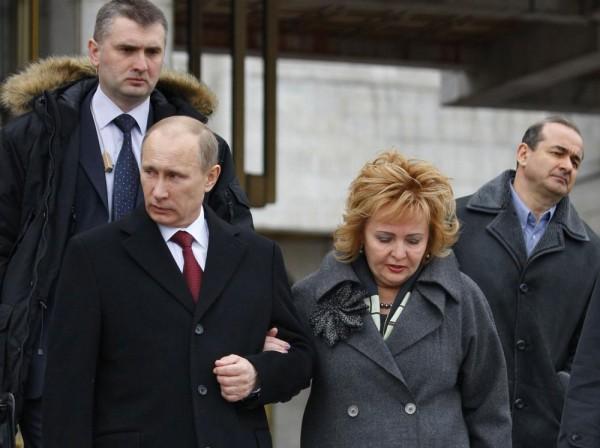 Владимир Путин разводится с женой Людмилой