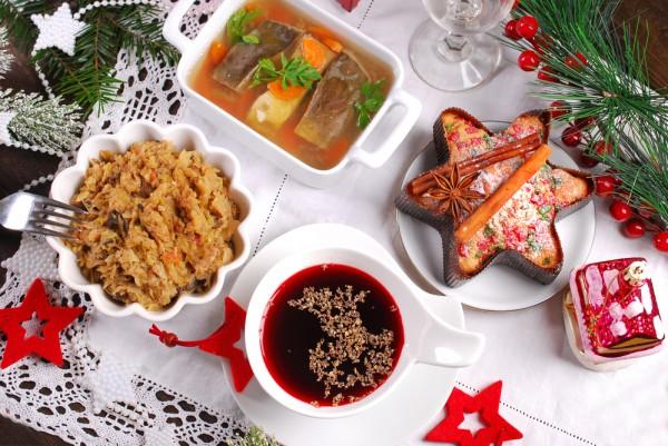 Польские рождественские блюда