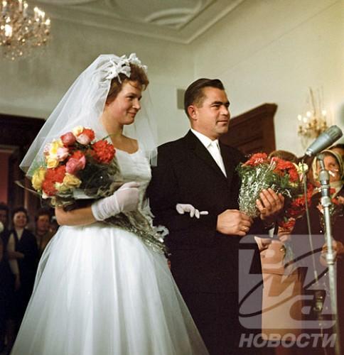 Свадьба в.терешковой и николаева