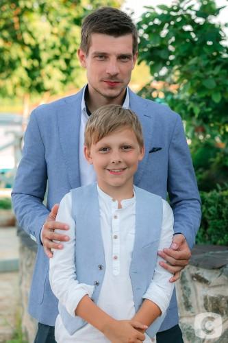 Кострицын с сыном