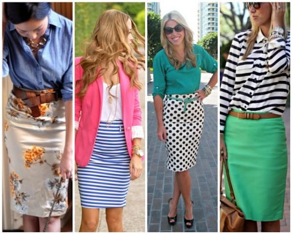 Модные вещи 2013: юбка-карандаш со стильным принтом