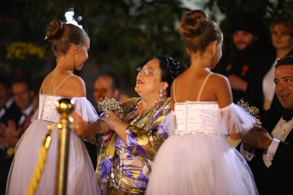 Гостей приема в честь 400-летия Романовых развлекали балетом