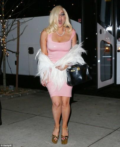 Американская певица Lady GaGa