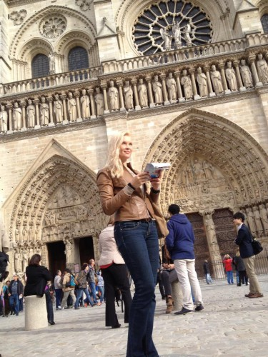 Лидия Таран в Париже