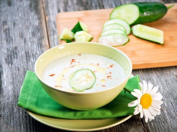 Рецепт от Джейми Оливера: огуречный суп