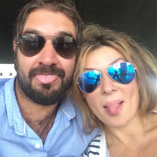 Жанна Бадоева со своим возлюбленным в Италии