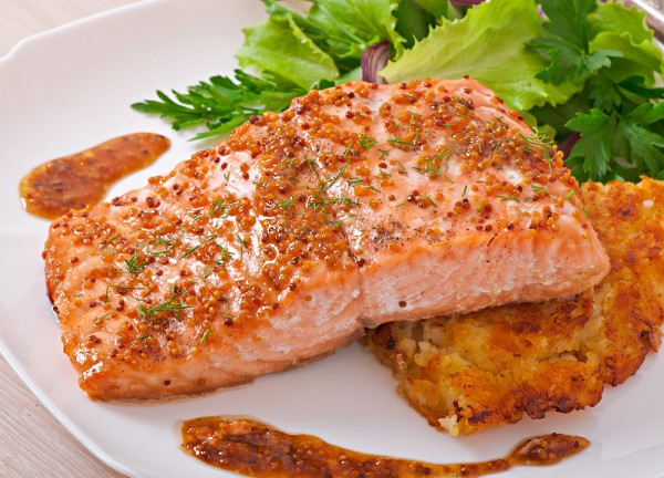 Красная рыба на Пасху