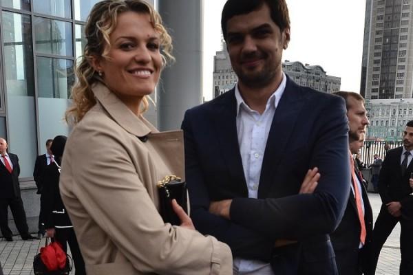 Константин Евтушенко с Натальей Добрынской