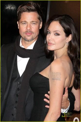 В брачном контракте Джоли и Питт поделили детей
