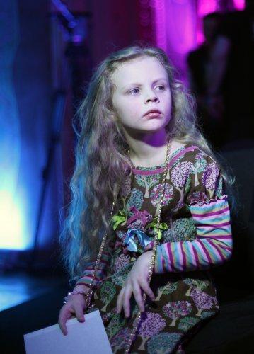 Злата, дочь Ольги Фреймут, растет настоящей модницей