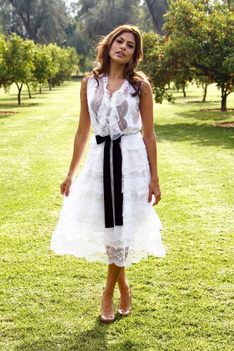 Актриса Ева Мендес хочет поделится секретами стиля