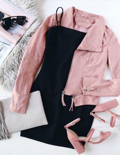 Наряд в розовом цвете фото