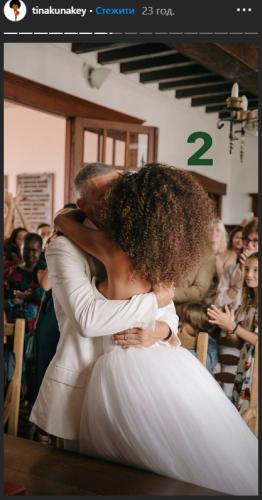 Свадьба Тины Кунаки и Венсана Касселя