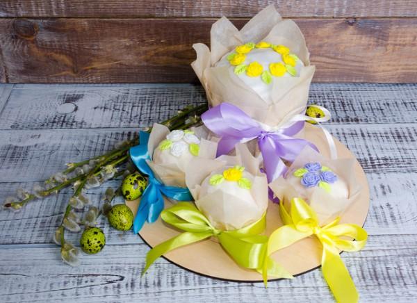 Куличи пасхальные: пошаговый рецепт