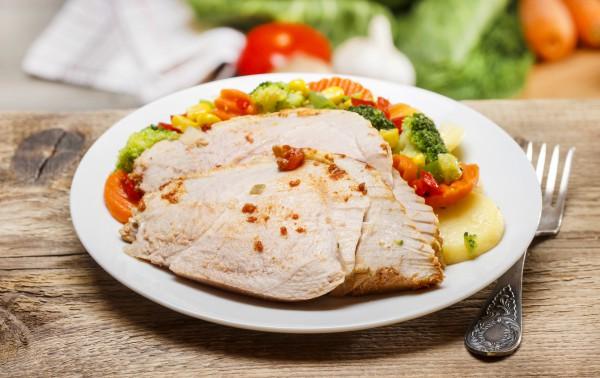 Рецепт                  Запеченное мясо в рукаве