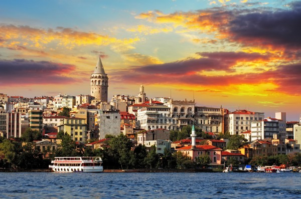 Старые кварталы Стамбула
